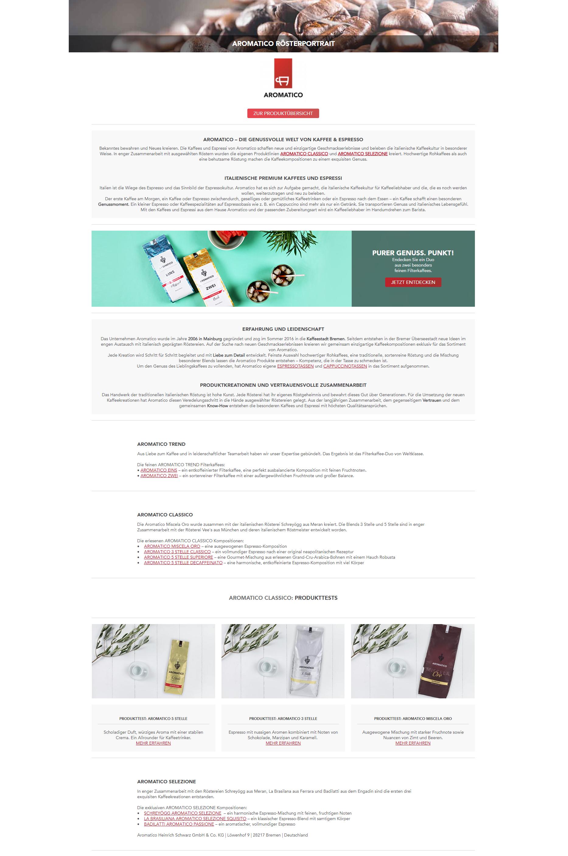 Aromatico Kaffee & Espresso online kaufen
